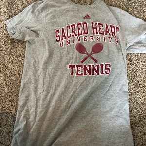 Sacred Heart University tennis t shirt